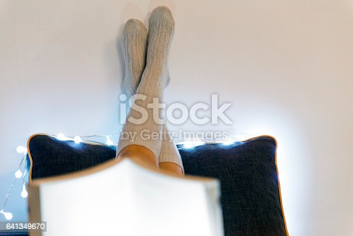 istock Relax before sleep 641349670
