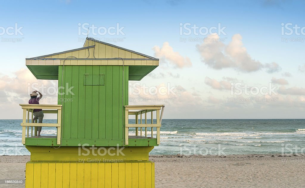 Relax by the sea royalty-free stock photo