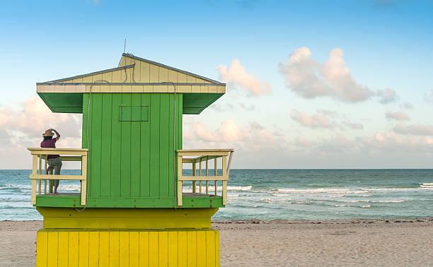 relax by the sea - badvaktshytt bildbanksfoton och bilder