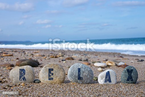 istock Relax Concept with Balanced Stones 499338242