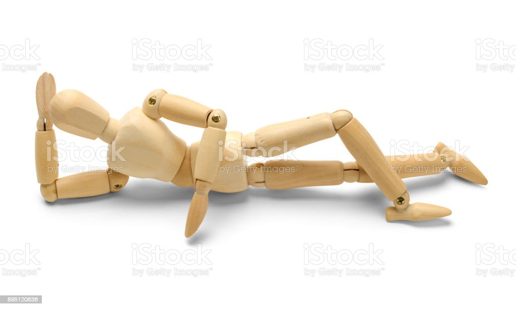 Relax Doll stock photo