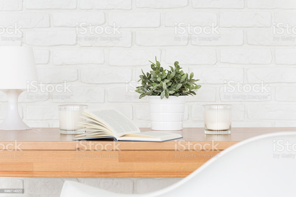 Relax in beautiful home interior foto royalty-free