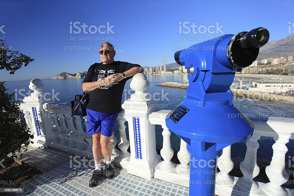 Relax in Benidorm royalty-free stock photo