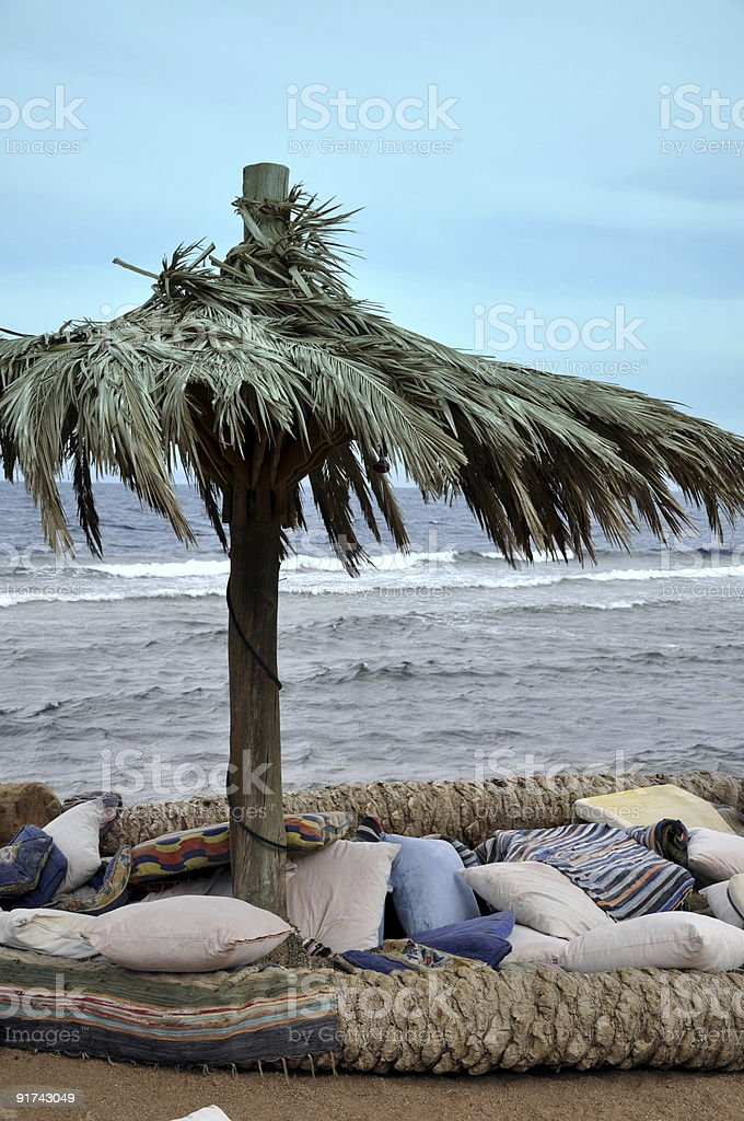 relax in Egypt stock photo