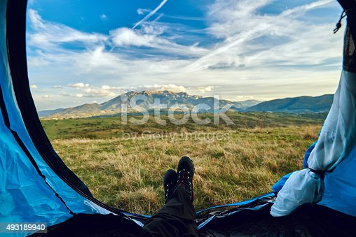 497486952 istock photo relax in my tent 493189940