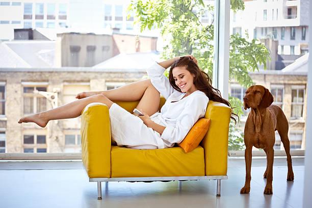 Relaxe na manhã - foto de acervo