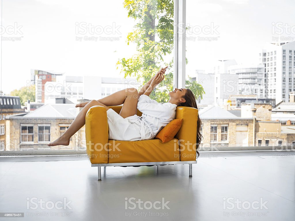 Relax in the morning - Royalty-free 20-24 Years Stock Photo