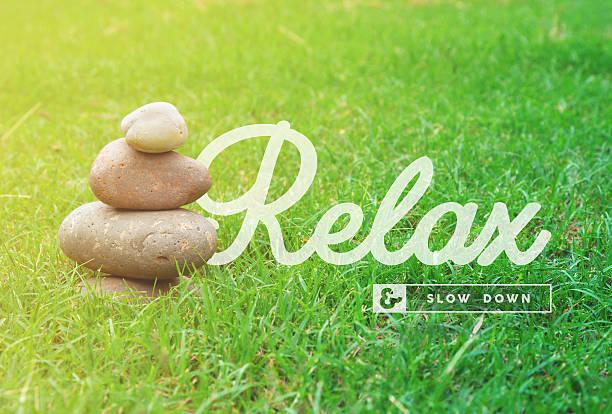 entspannen sie sich, motivierende angebot konzept hintergrund - motivationsfitness zitate stock-fotos und bilder