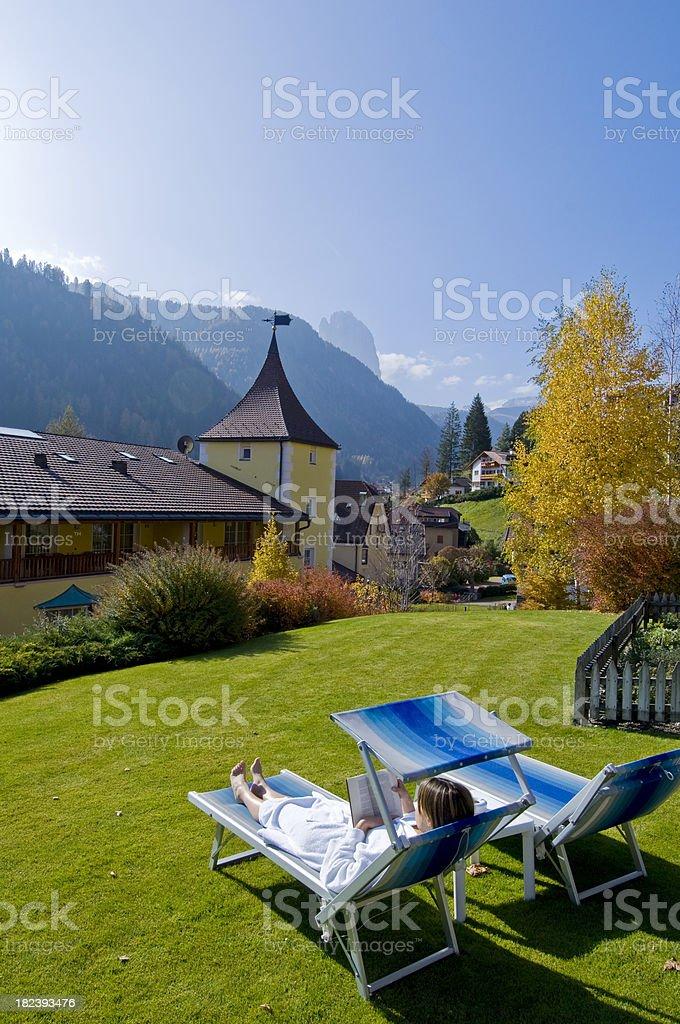 Relax resort royalty-free stock photo