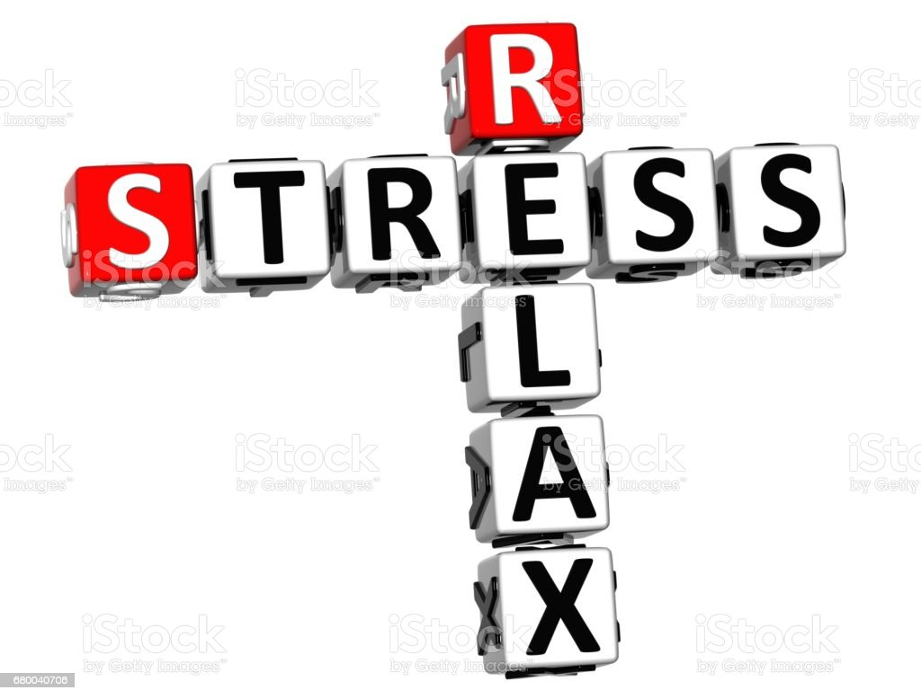 3d relax stress crossword on white background stock vector art 3d relax stress crossword on white background royalty free 3d relax stress crossword on white biocorpaavc