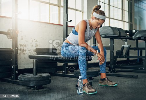 istock Relax, take a breather then get back to beast mode 841195994
