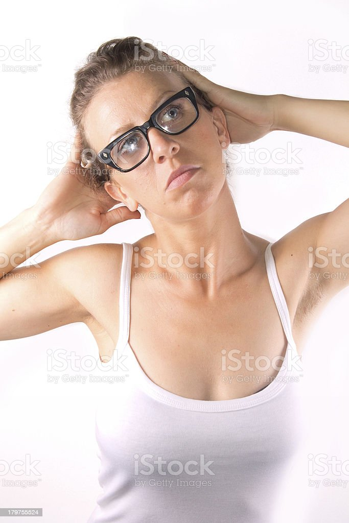 relax woman royalty-free stock photo