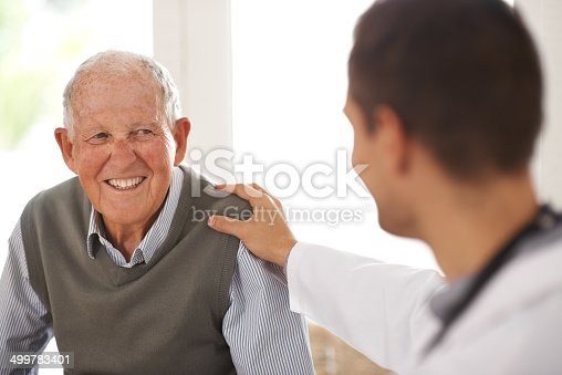 istock Relax! You're in good hands 499783401