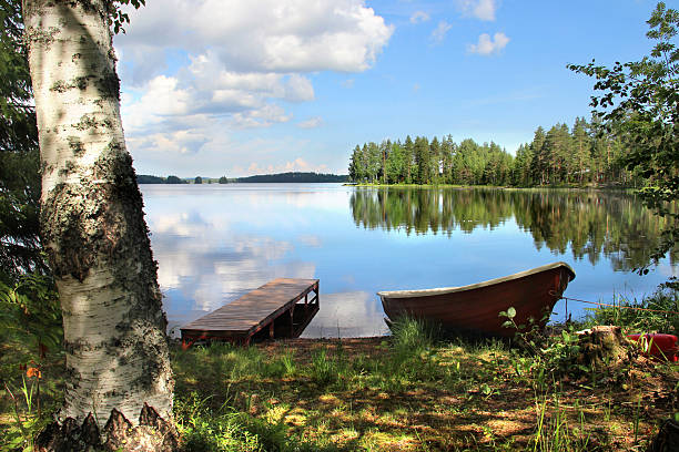 Relaxation and fishing in Finland – Foto