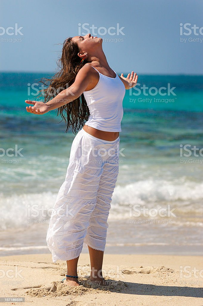 Relaxation exercise royalty-free stock photo