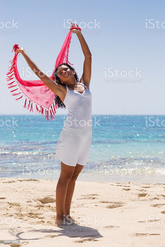 Relaxation Exercise stock photo