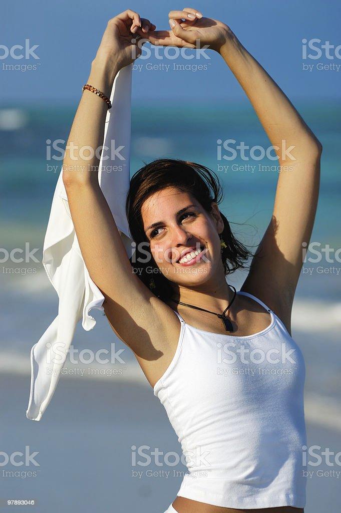 Relaxation Exercise royalty-free stock photo