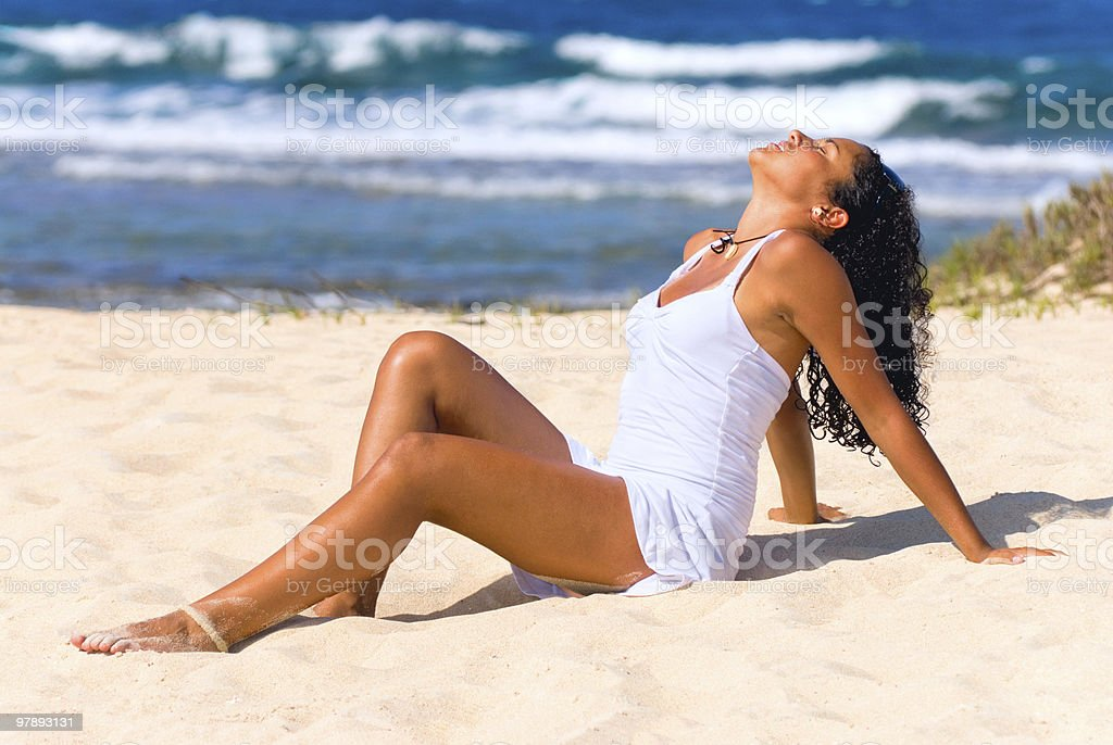 Relaxation in a summer day royalty-free stock photo