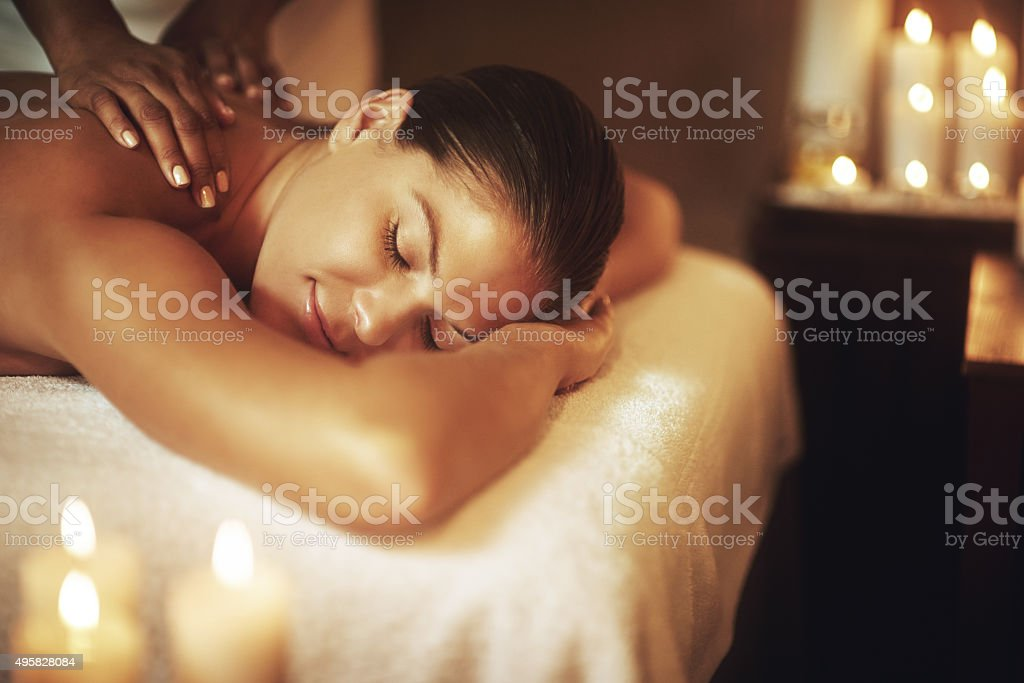 Relaxation is who you are stock photo