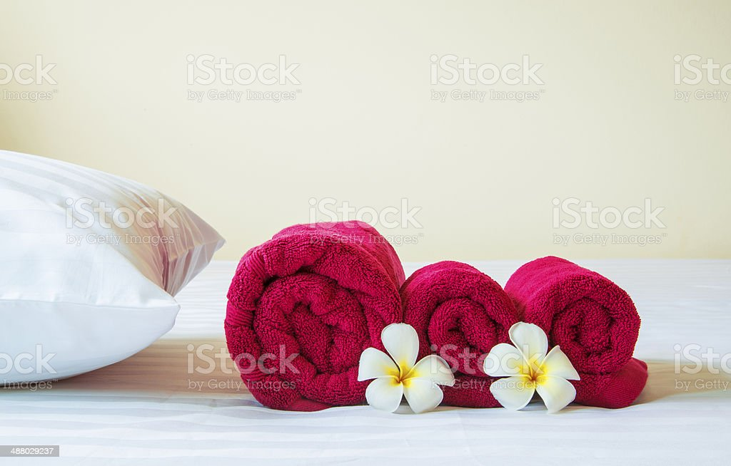 Relaxation living in luxury hotel stock photo