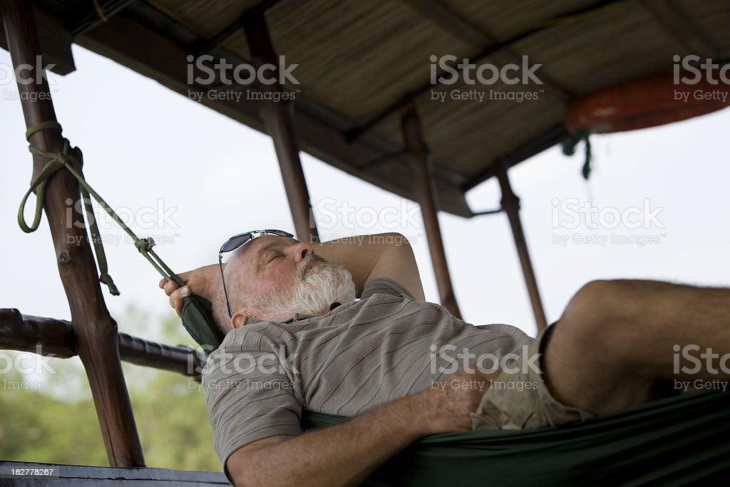 Relaxation on Holidays stock photo