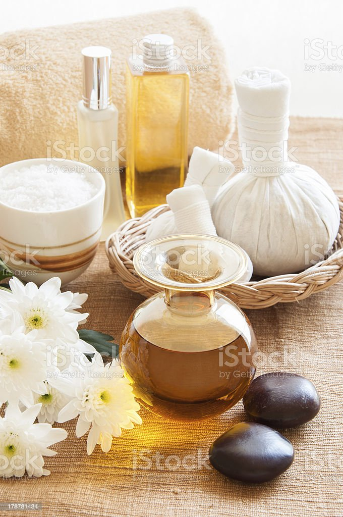 Relaxation Spa Concept royalty-free stock photo