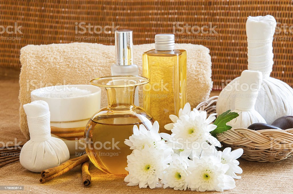 Relaxation Spa Concept. royalty-free stock photo