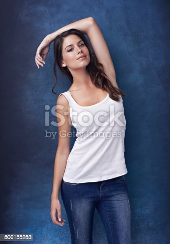 istock Relaxed and easy-going best describe her personality 506155253