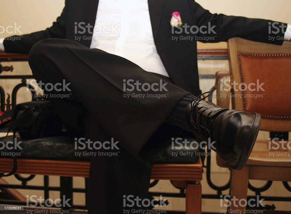 Relaxed Attire royalty-free stock photo