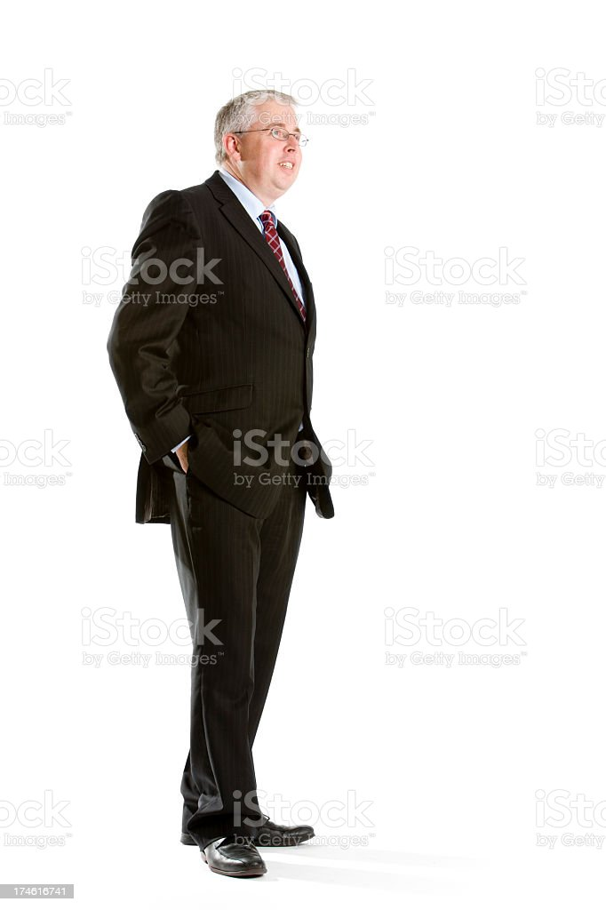 relaxed business royalty-free stock photo