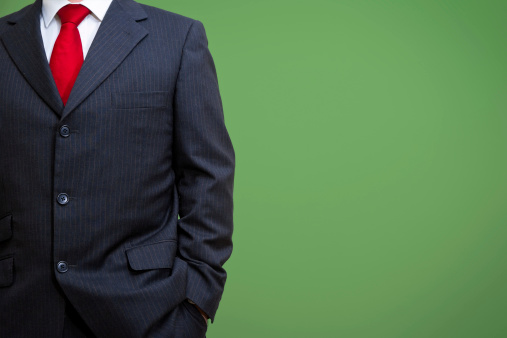 Relaxed Businessman In Suit Stock Photo - Download Image Now
