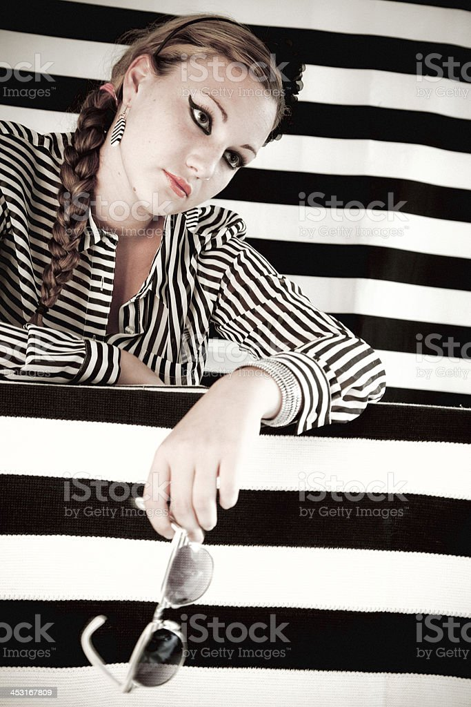 Relaxed stock photo
