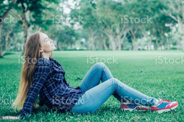 Relaxed serene young woman enjoying weather picture id919769144?b=1&k=6&m=919769144&s=612x612&h=os5bfutvp7 awolr eq2swjsadpcyquahd h9zhxtlm=