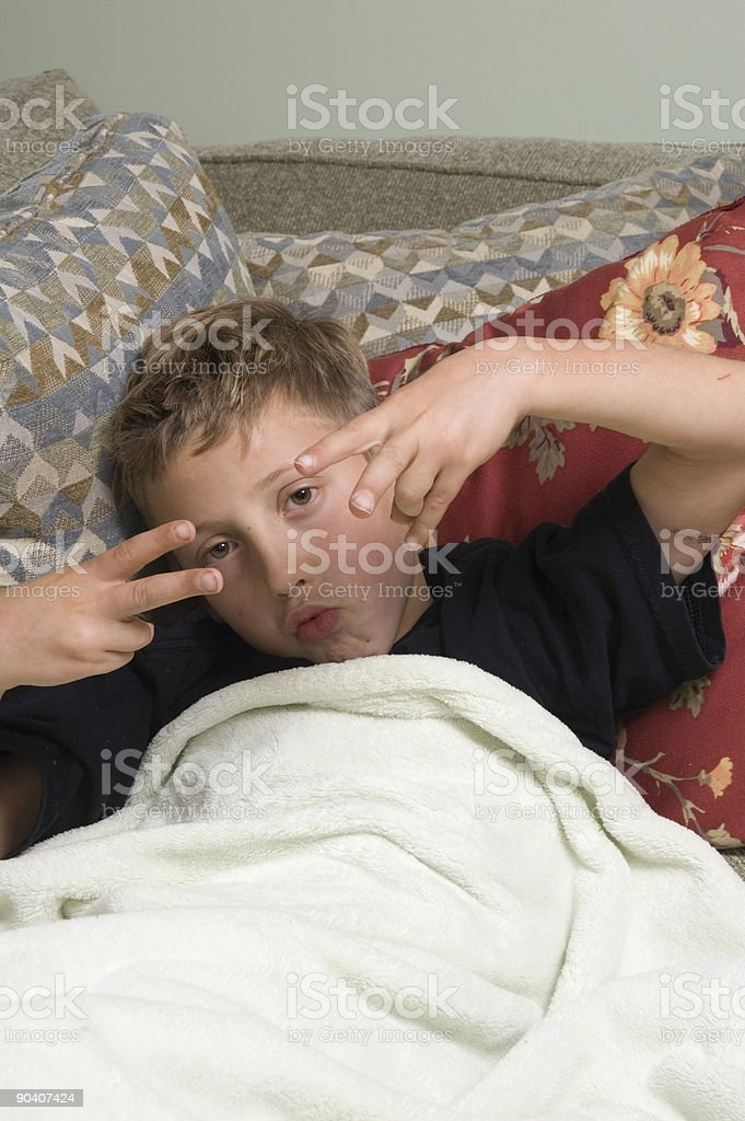 relaxing 1 royalty-free stock photo
