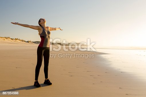887354516istockphoto Relaxing after my exercise 887354566