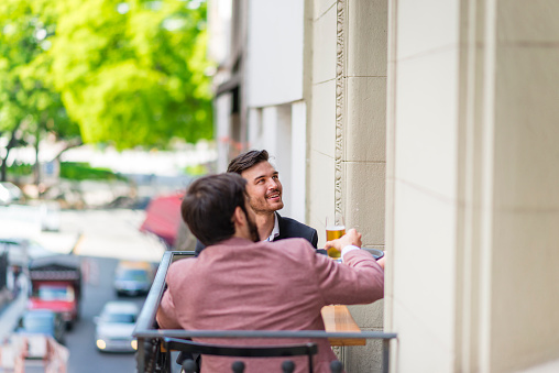 Relaxing After Work In Buenos Aires Stock Photo - Download Image Now