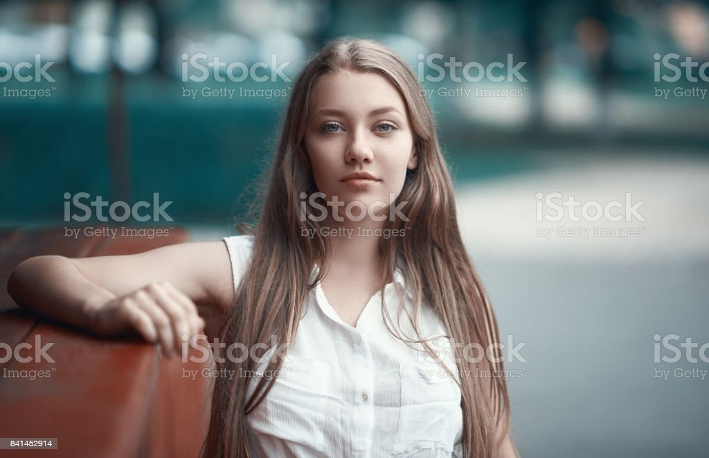 relaxing afternoon stock photo