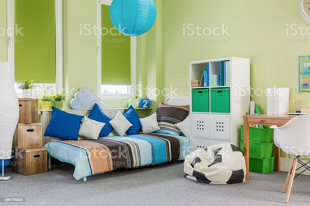 Relaxing and study space Photo of relaxing and study space in spacious room 2015 Stock Photo