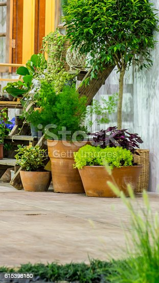 946294510 istock photo Relaxing area in cozy home. 615398180