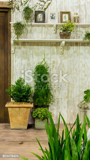 946294510 istock photo Relaxing area in cozy home. 624476424