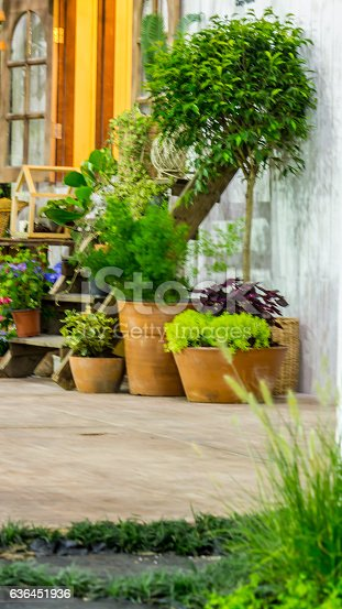 946294510 istock photo Relaxing area in cozy home. 636451936