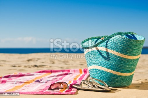 istock Relaxing at the beach 146799328