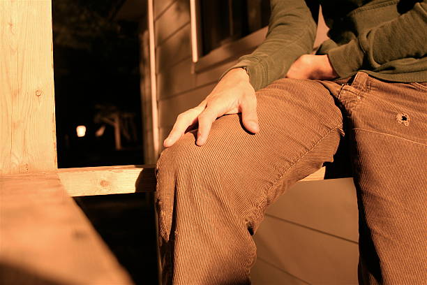 relaxing at the cottage - corduroy stock pictures, royalty-free photos & images