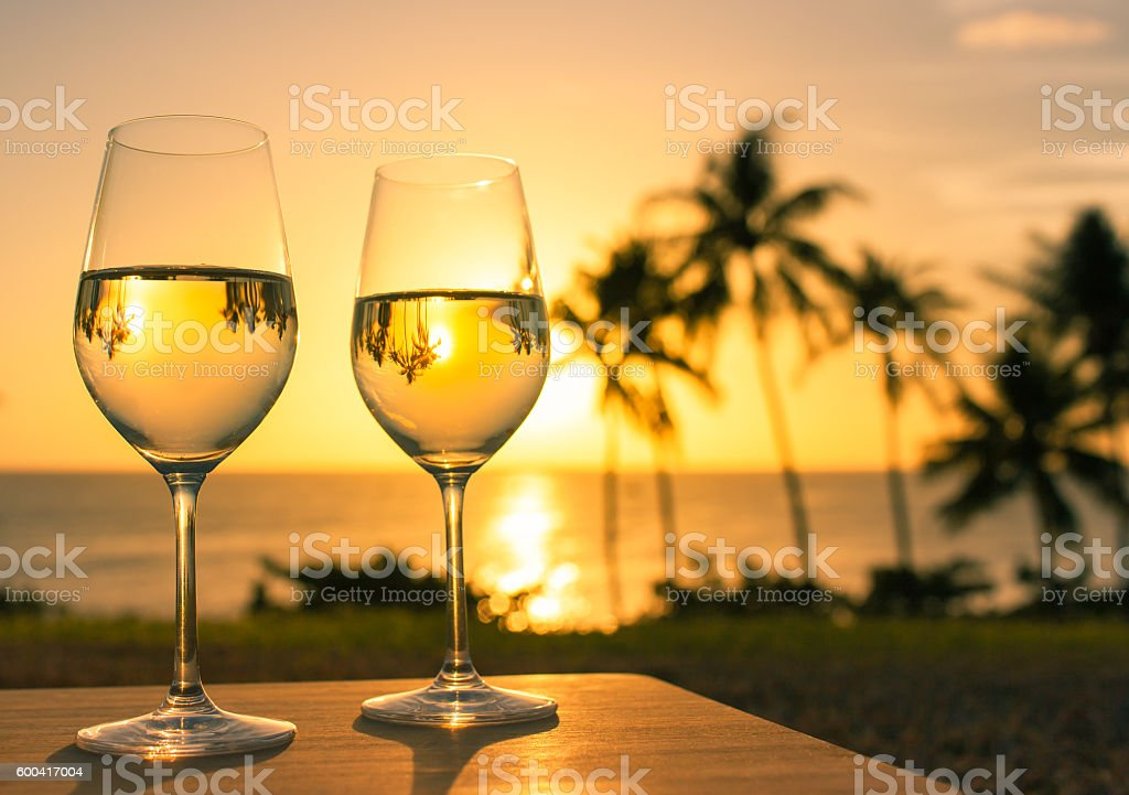 Relaxing beach holiday stock photo