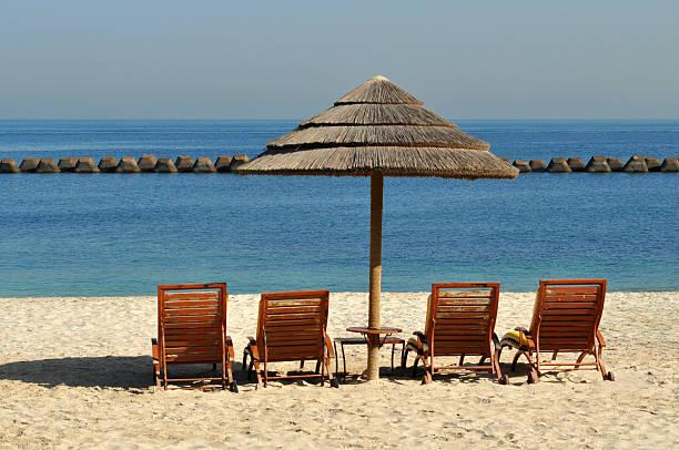 Relaxing beach view