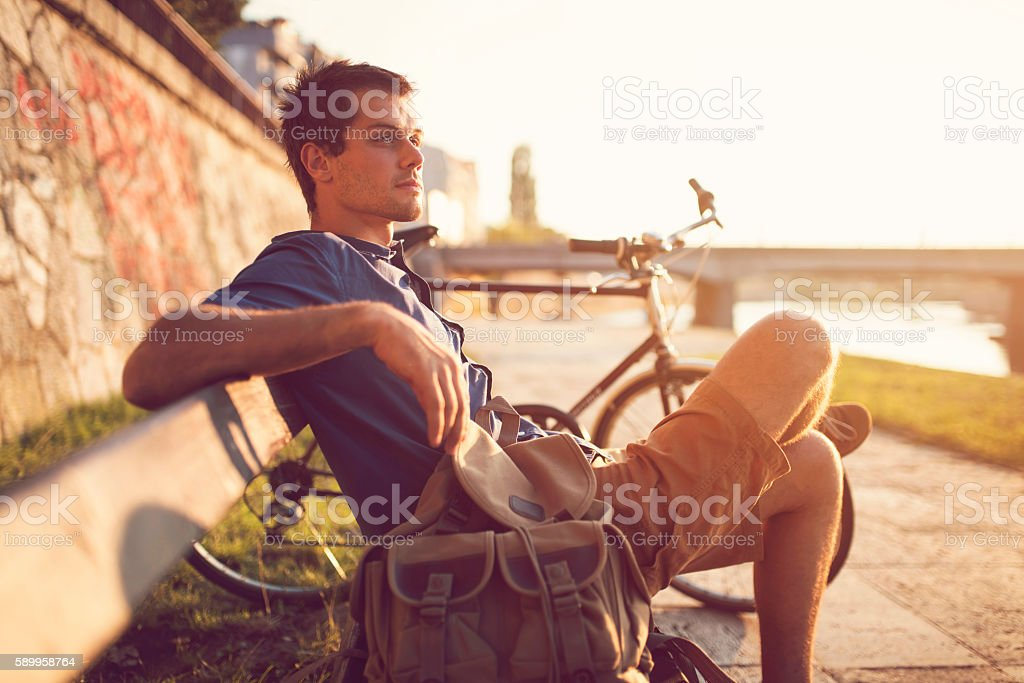Relaxing Day stock photo