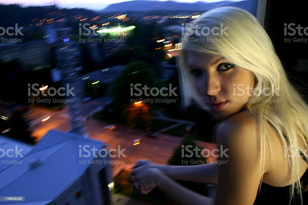 Relaxing from the party inside royalty-free stock photo