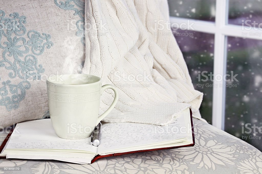 Relaxing Hot Drink stock photo