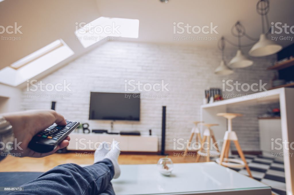 Entspannen Sie im Wohnzimmer – Foto