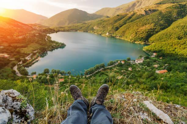 Entspannen in mountain – Foto
